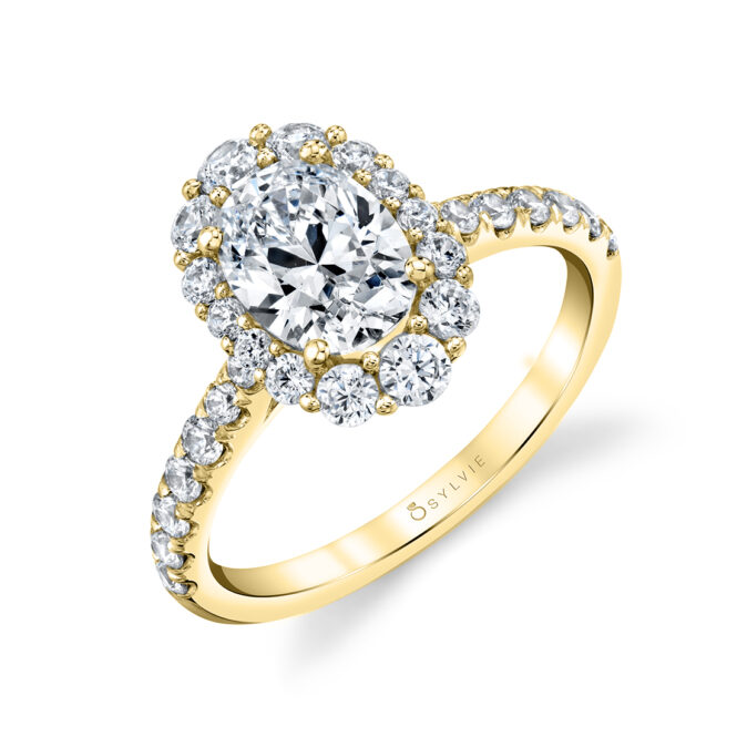 oval-engagement-ring-sylvie-S1848-OV-YG