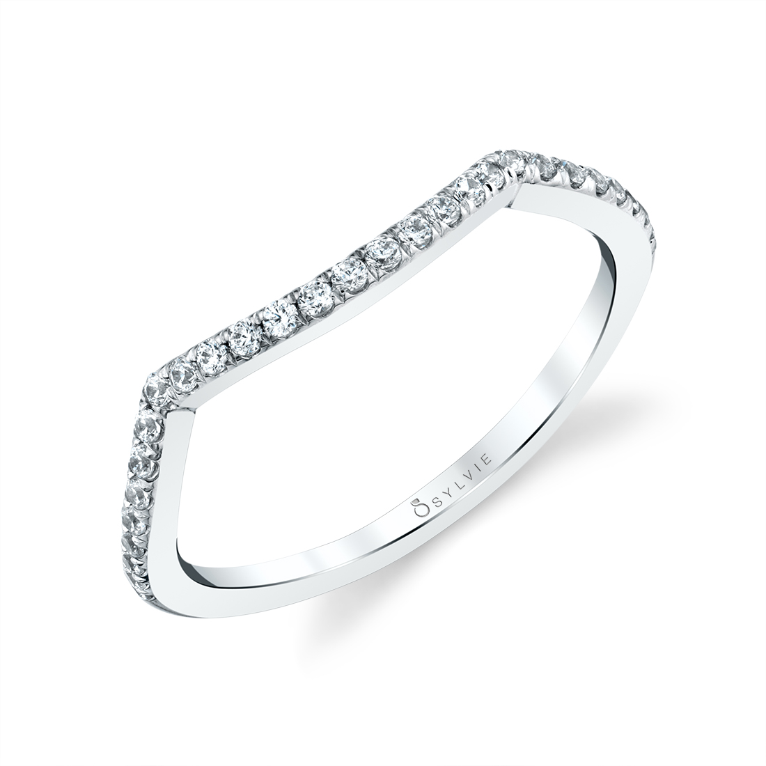 Profile Image of Spiral Engagement Ring with Hidden Halo - Amahle