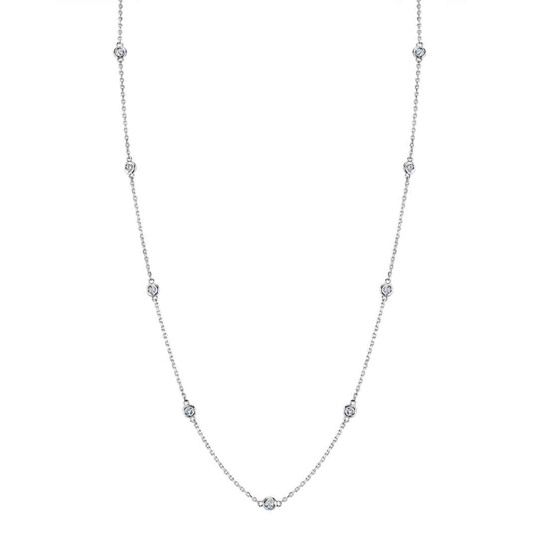 Diamonds by the Yard Necklace -  - Sylvie