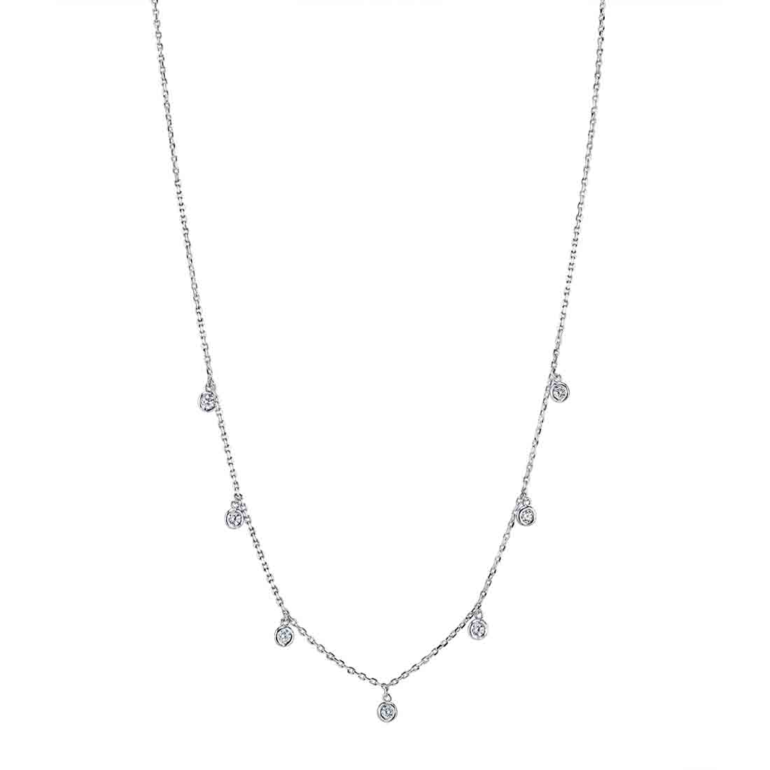 Diamonds by the Yard Necklace  by Sylvie
