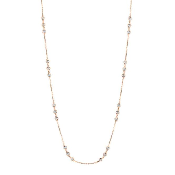 Diamonds by the Yard Necklace - by Sylvie