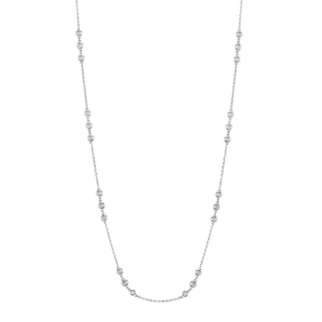 Diamonds by the Yard Necklace  Sylvie