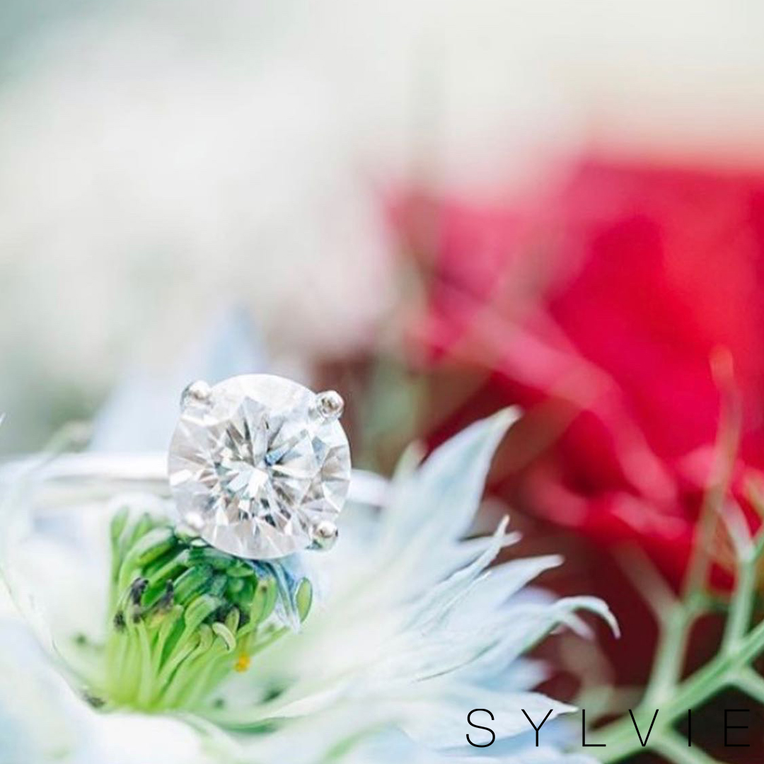 Sylvie Bride Laura B Solitaire Engagement Ring