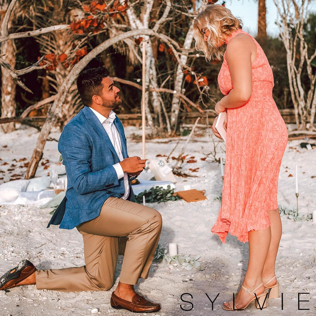 sylvie bride emily being proposed to